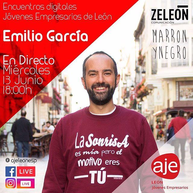 I encuentro digital AJE León: Emilio García