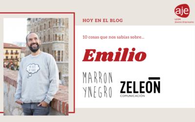 Hoy conocemos a… Emilio de MarronyNegro Zeleón Comunicación