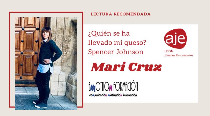 Lectura recomendada por Mari Cruz de Emottion Formación