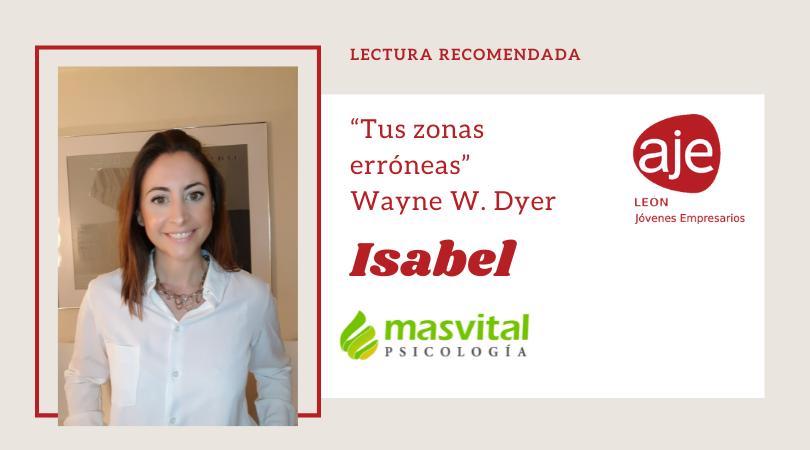 Lectura recomendada por Isabel de Masvital Psicología